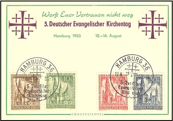 Briefmarken Diverse Philatelie 106 Belege Von Hamburg Mit Sonderstempel